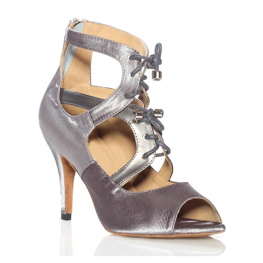 "Chaussures de danse kizomba Label Latin "" So Boot"" argent"