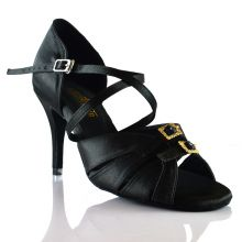 "Chaussures de danse salsa Label Latin ""Diamond"" Noir"
