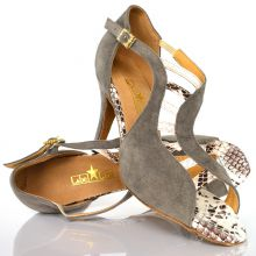 "Chaussures de danse salsa Label Latin ""Mica"" Somke"