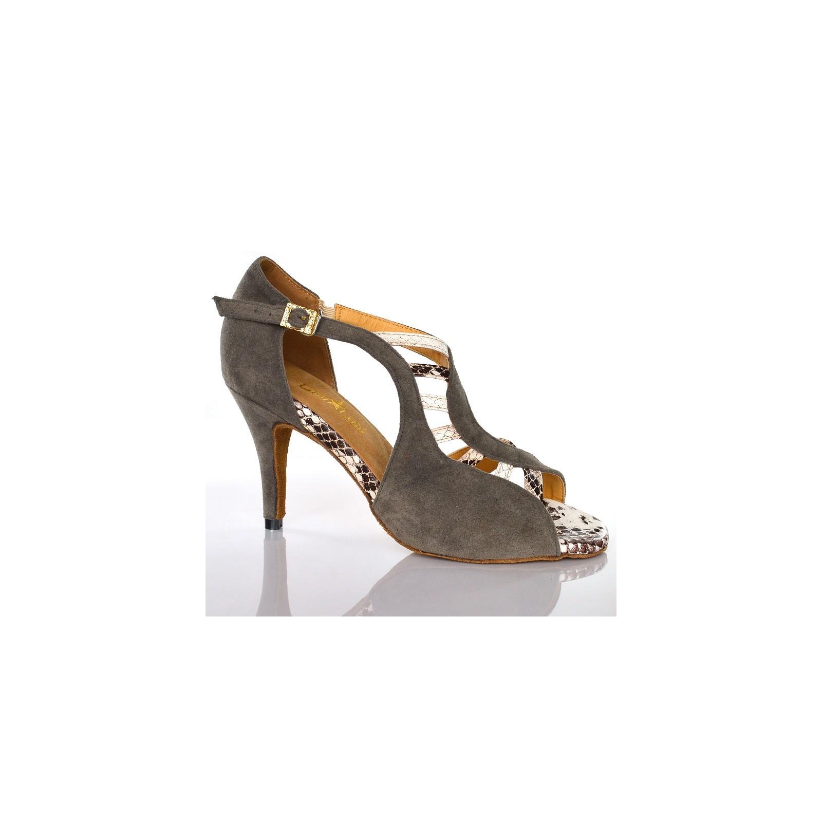 Goettin Chaussures de danse latine Salsa Bachata Performance Chaussures de danse pour femme Talon en daim Semelle Net F/ête Mariage Mode Zip Chaussures Rouge 3,9 cm