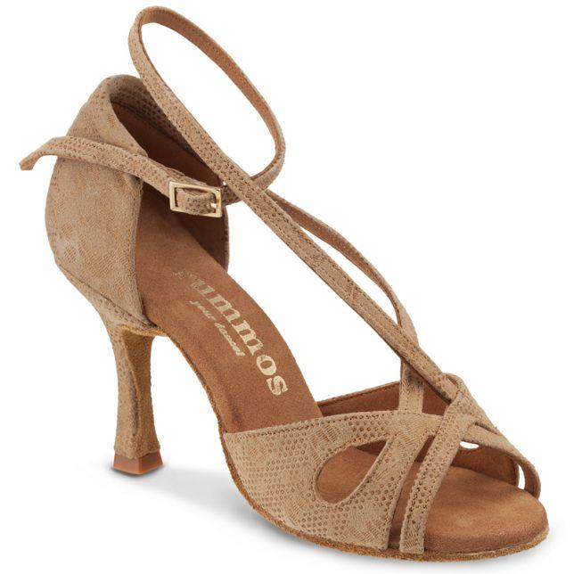 "Chaussures de danse Rummos ""Lana"" Cuir tan Nehru"
