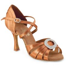 "Chaussures de danse Elite Rummos ""Amor"" satin tan"