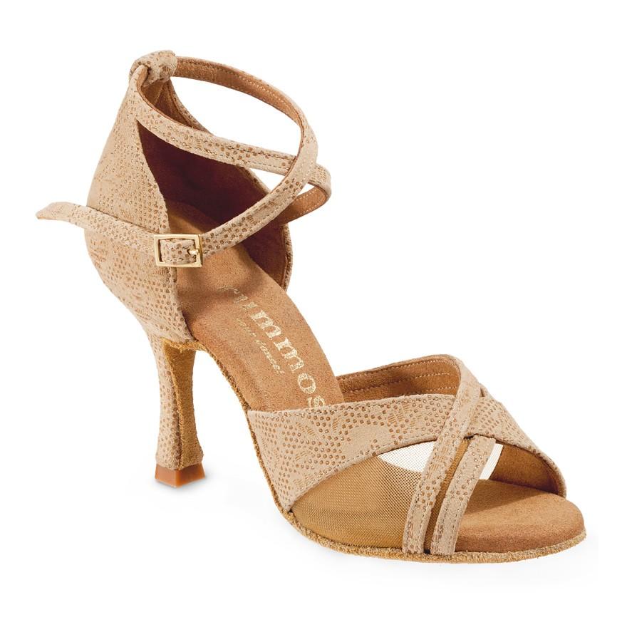 "Chaussures de danse Rummos ""Fabiola"" cuir tan Nehru"