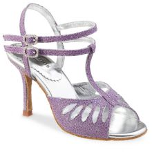 "Chaussures de danse Rummos ""Pasion"" Cuir Lilas"