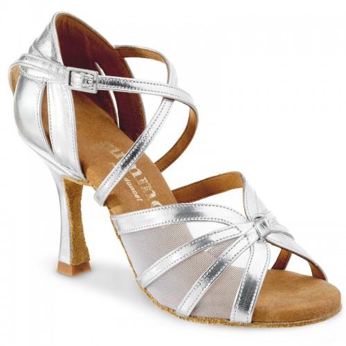 "Chaussures de danse Rummos ""Greta"" cuir argent"