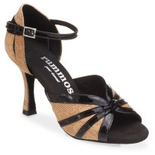 "Chaussures de danse Rummos ""Angela"" cuir tan Nehru"
