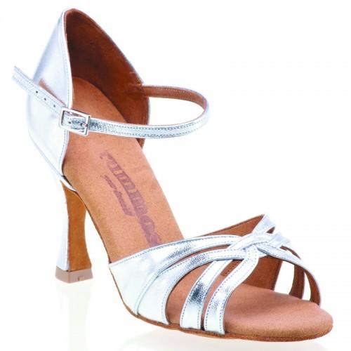 "Chaussures de danse Rummos ""Adena"" cuir argent"