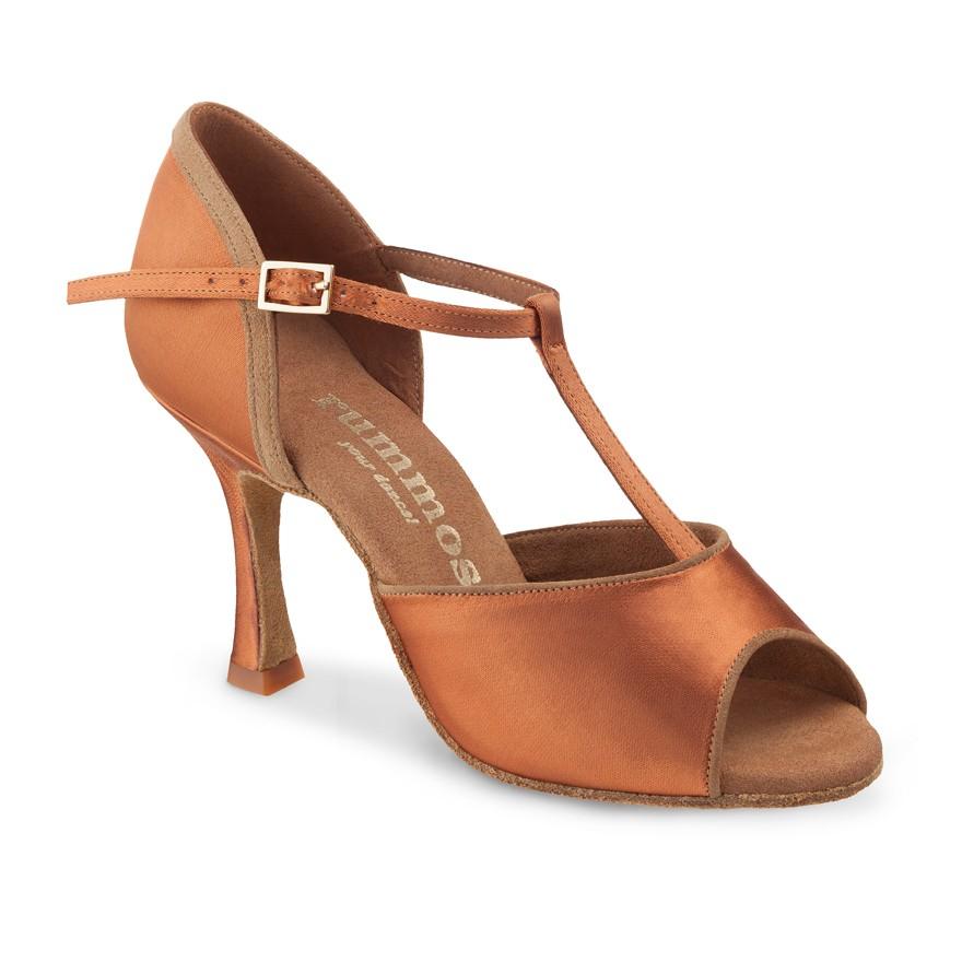 "Chaussures de danse Rummos ""Lila"" satin tan"