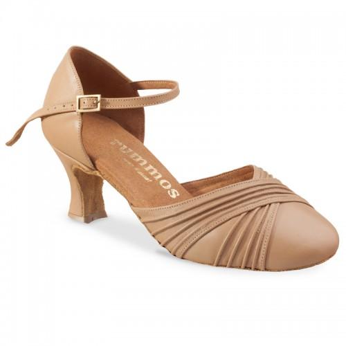 "Chaussures de danse Rummos ""Prisca"" cuir beige"