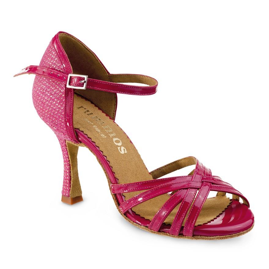 "Chaussures de danse Rummos ""Marylin"" Cuir rose vernis"