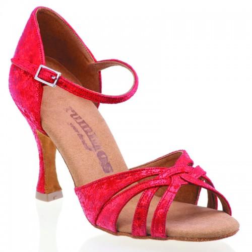 """Chaussures de danse Rummos """"Adena"""" cuir rouge"""