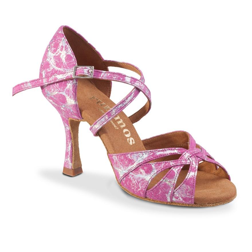 "Chaussures de danse Rummos ""Salena"" Cuir rose"