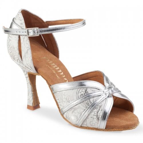 "Chaussures de danse Rummos ""Angela"" cuir argent"