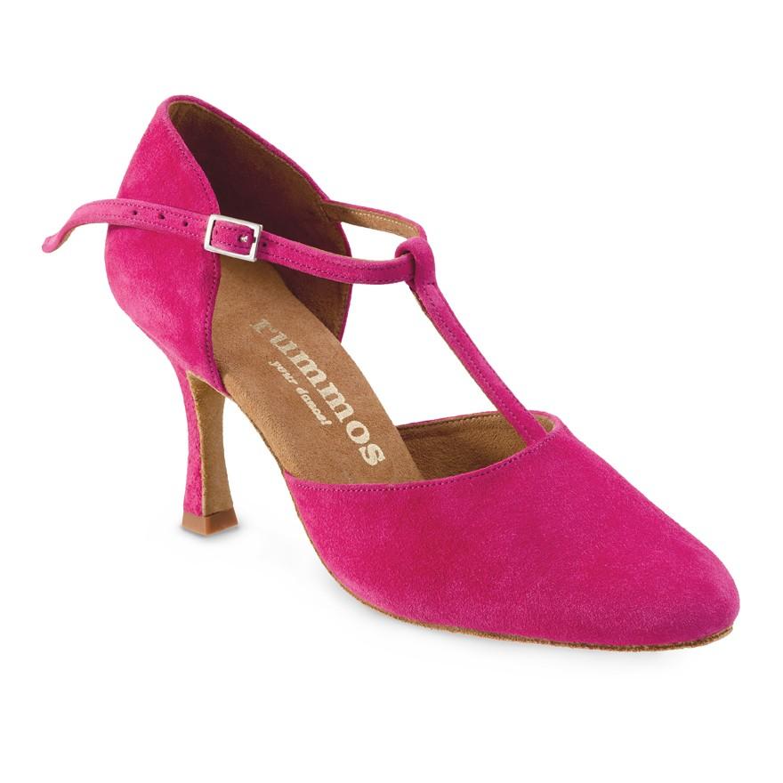 """Chaussures de danse Rummos """"Tania"""" daim fuchsia"""