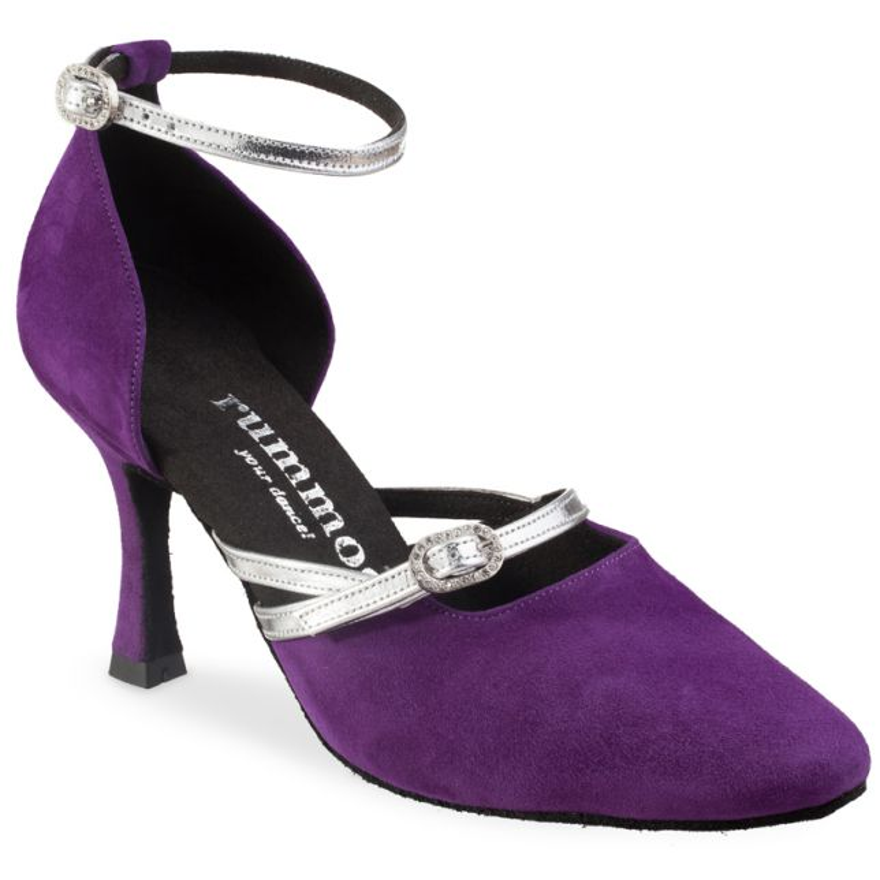 "Chaussures de danse Rummos ""zita"" daim violet"
